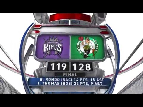 Sacramento Kings vs Boston Celtics - February 7, 2016
