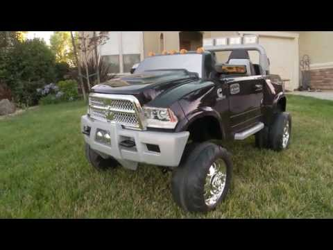 Kid Trax Dodge Ram Truck Review