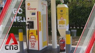 Shell to offer electric vehicle charging at 10 service stations