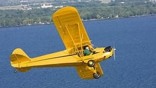 Piper cub  j4 coupe Flight