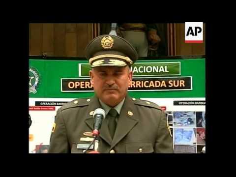 Police arrest five FARC members allegedly planning attacks in Bogota