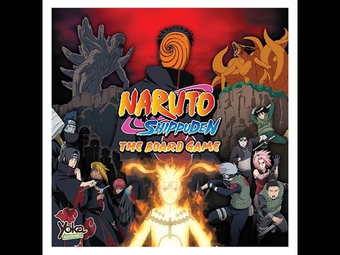 Naruto Shippuden Board Game Review