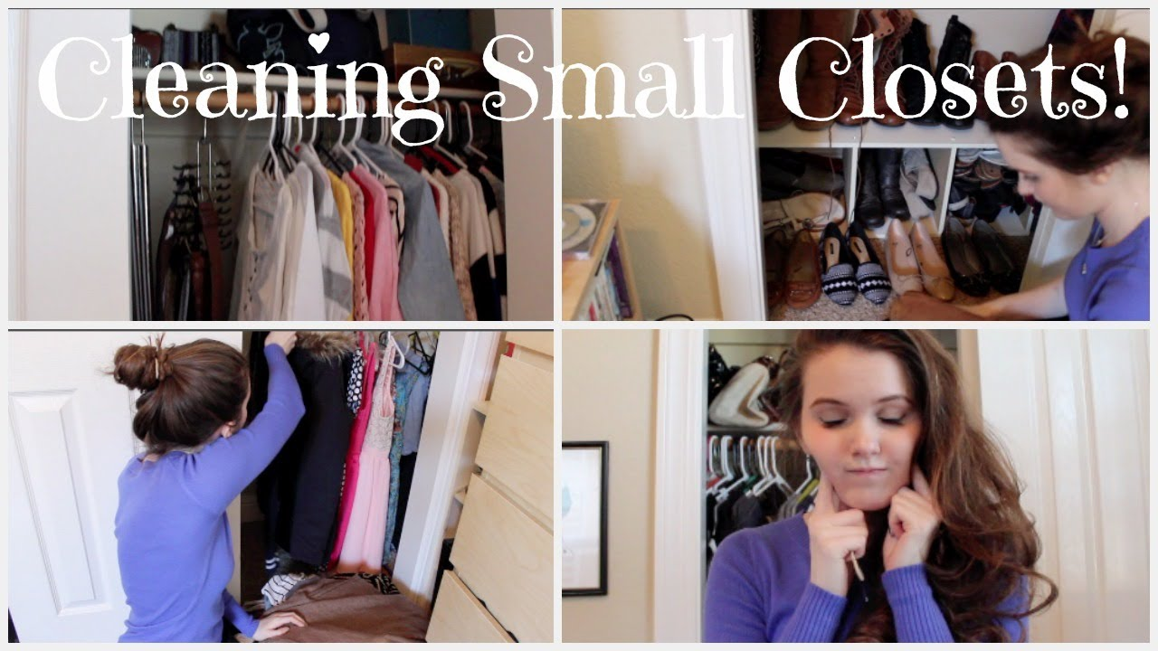 organizing small closets youtube. Black Bedroom Furniture Sets. Home Design Ideas