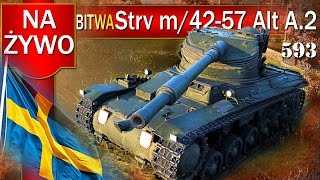 Strv m/42-57 - WYMIATACZ czy kicha? - BITWA - World of tanks