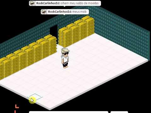 Habbo Pirata Com Vip e mais 20 mil moedas gratis