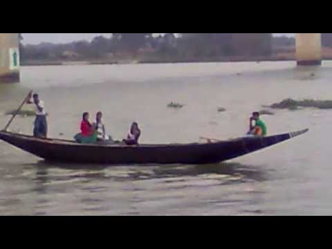 Indian People Traveling In Small Ship video