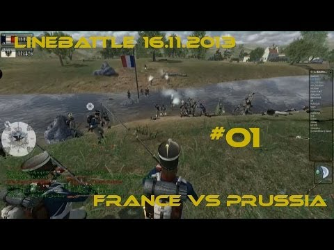 Linebattle 07.12.2013 - Conquest - France vs Prussia - #01