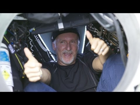 James Cameron Dives to Earth