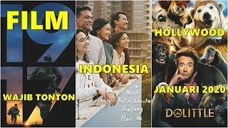Film Indonesia & Hollywood Wajib Tonton di Januari 2020