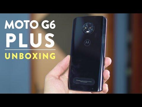 MOTO G6 PLUS UNBOXING - Tela, processador e cameras, será que vai melhor que Z2 PLAY?