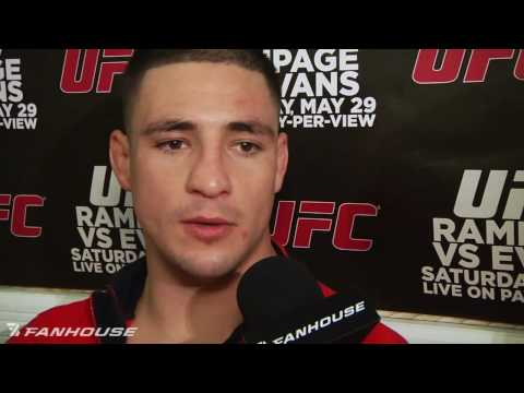 UFC 114: Diego Sanchez Shows Off His Famous Yes! Cartwheel Image 1