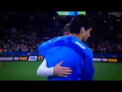 Uruguay vs England - 2-1 - Luis Suarez GOAL-s ( FIFA World Cup 2014 )