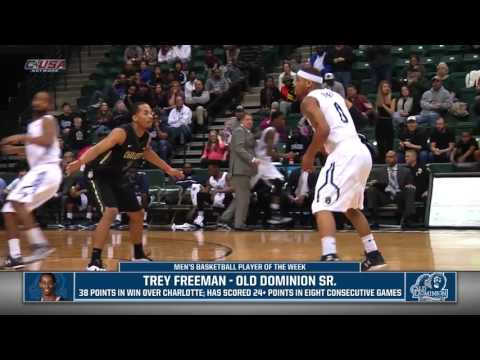 C-USA Men's and Women's Players of the Week; 2-8-16