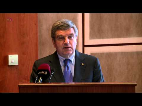 IOC President Dr. Thomas Bach Speech.