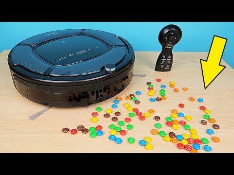 Новый Робот Пылесос Midea против конфет M&M's и другие испытания! alex boyko