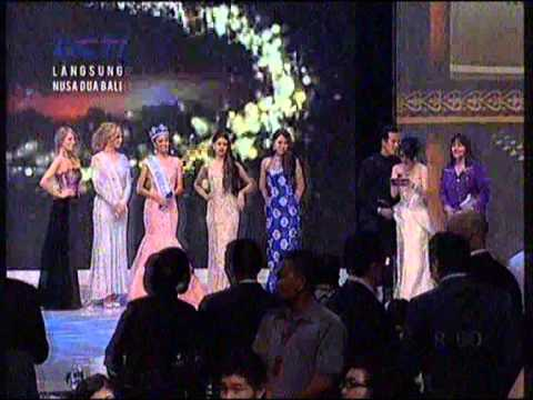 Megan Young:the winner miss world in gala dinner coronation miss world all contestant