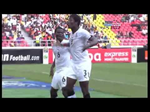 Dance Asamoah Gyan    Ghana vs Nigeria