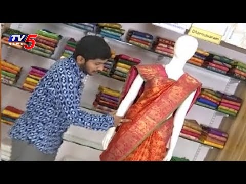 Latest Trending Sarees | Snehitha Program | 10-06-2018 | TV5 News