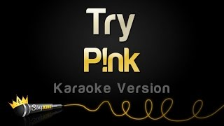 P Nk Try Karaoke Version