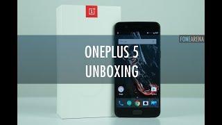 OnePlus 5 Unboxing - 6GB RAM