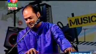 Aloke Kumar Sen || অলোক কুমার সেন। Bangla Vision Music Club 04- 03- 2015( Part -1 )