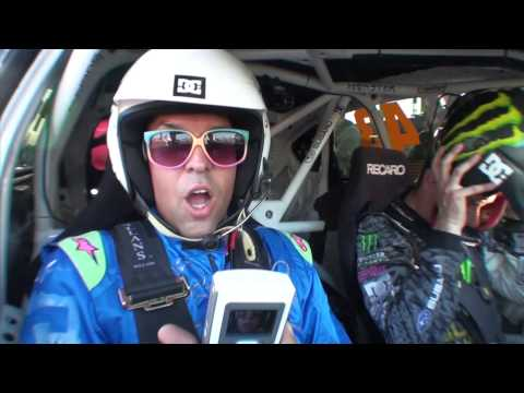 DC SHOES: KEN BLOCK GYMKHANA TWO PREMIERE PARTY RENEE RENEE RIDE ALONG