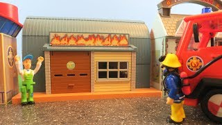Fireman Sam Toys Episode 11 Mike Flood Workshop Fire 2018 Toy Firefighter Sam Fire Station Jupiter