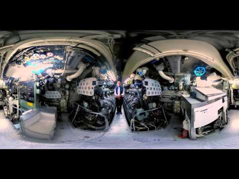 360 Degree Virtual Reality tour of submarine HMAS Onslow - Action Stations!