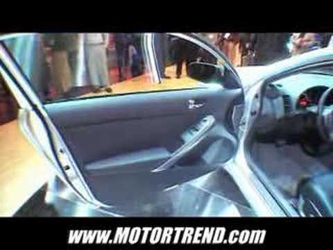 LA Auto Show: 2008 Nissan Altima Coupe Unveiling Video Video