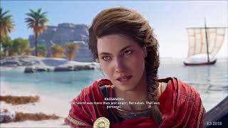 Watch 40 minutes of Assassin's Creed Odyssey gameplay as Alexios and Kassandra
