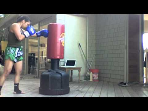 Muay Thai boxing conditioning at home (Bas Rutten Thai Boxing...