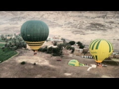 Egypt Balloon Crash 2013 Aftermath Photos: At Least 18 Tourists Killed