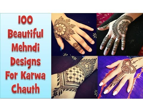 Karwa Chauth Special Mehndi Designs 2018 II Latest Mehndi Designs II Easy Mehndi Designs