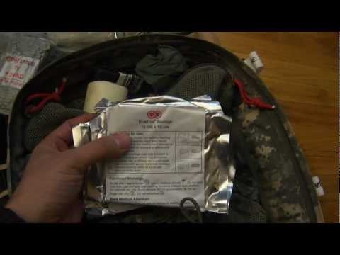Overview of my aid bag - TSSI M9 Assault Medical Pack