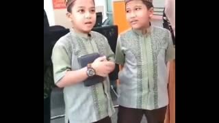 HAFIZ INDONESIA - Ahmad dan Kamil  Kompak sekali, Masya Alloh part 1