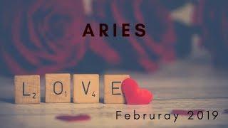 ARIES: New Love! True Love? February 2019