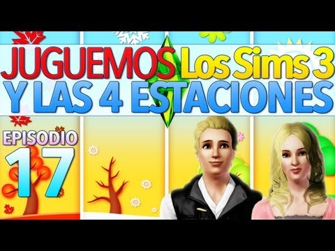 Los Sims 3 Y las Cuatro Estaciones   Parte 17: ¡Preparando los regalos del día de la nieve!