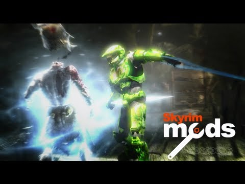 Top 5 Skyrim Mods of the Week - Master Chief's Gonna Rip Your Heart Out!