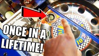 Once in A Lifetime Arcade Jackpot Win on Winners Wheel at Zap Zone! ArcadeJackpotPro