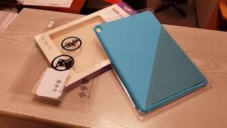 Lenovo TAB P10 side BUMPER case unboxing