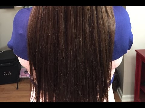 Donna Bella Hair I-Tips Hair Extensions Review and Hair Tutorial