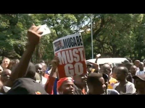 Mugabe granted immunity from prosecution