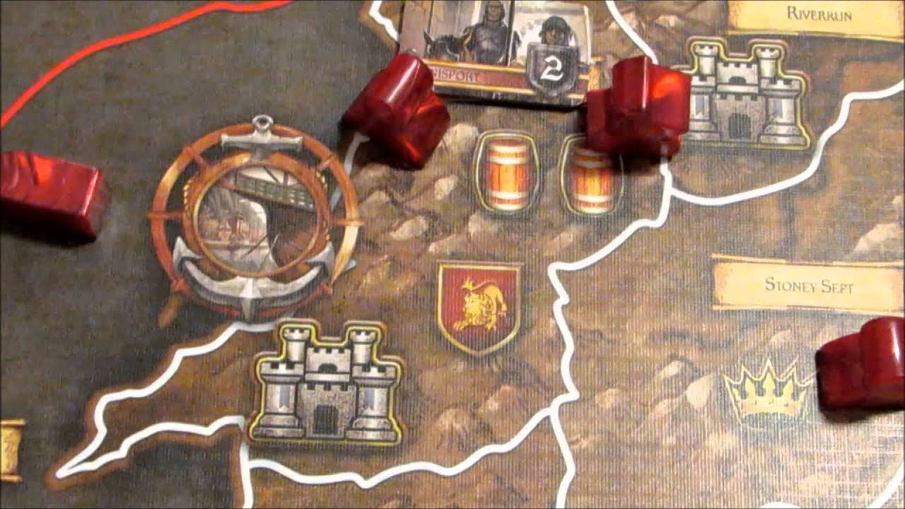Board Game Ships a Game of Thrones Board Game
