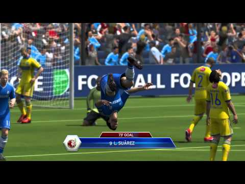 FIFA 14 Ultimate Team | Luis Suarez Player Review