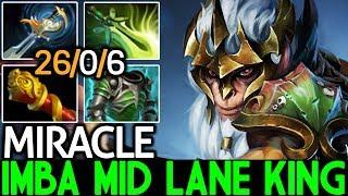 Miracle- [Monkey King] Imba Mid Lane King 26 Kills 7.21 Dota 2