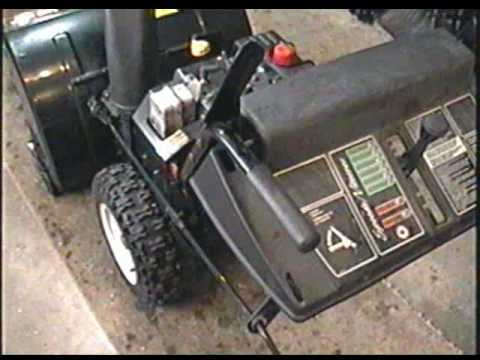 REPAIR of the MTD Snowblower PART 2 of 3 - Fixing the loose handle bars