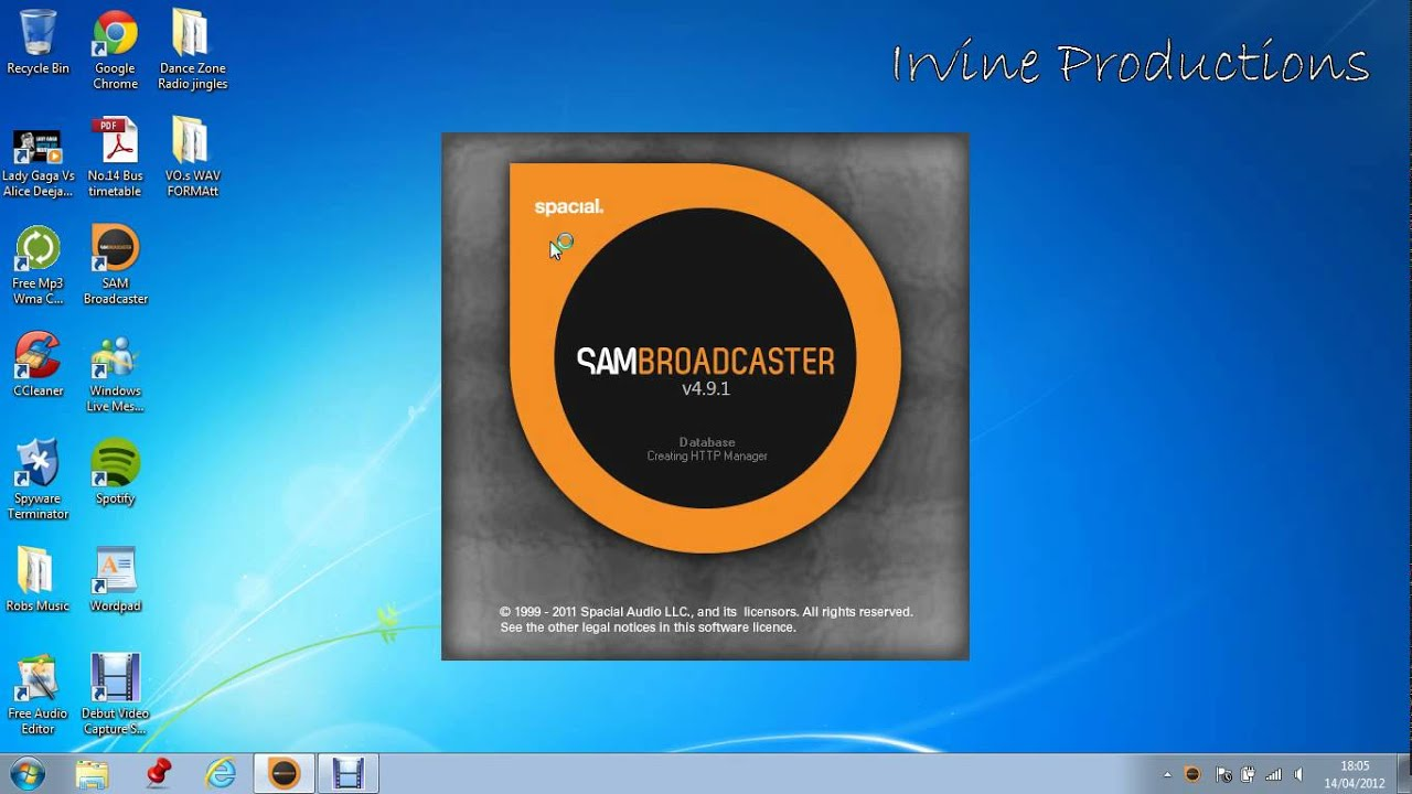 Generator Key Broadcaster Pro Registration Sam