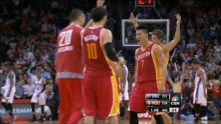 Rockets vs Thunder | Lin ( 29 PTS ) + Team Highlights (2-20-2013)
