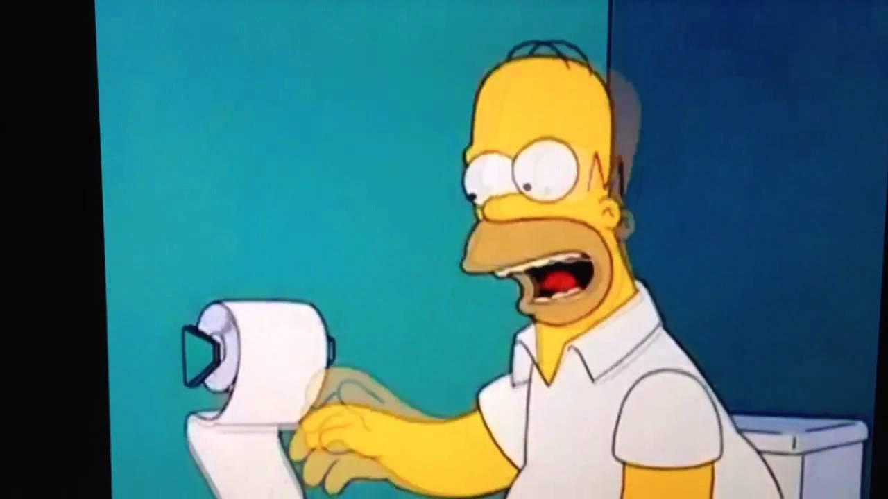 Homer simpson j ai passer toute la journ e assis sur les - Les simpson tout nu ...