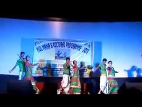 Baripada Kuri performed at Haldia Hulmaha 2015